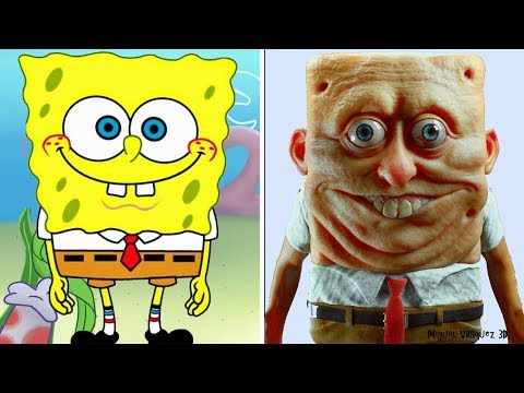 Thumbnail: Cartoon Characters IN REAL LIFE!