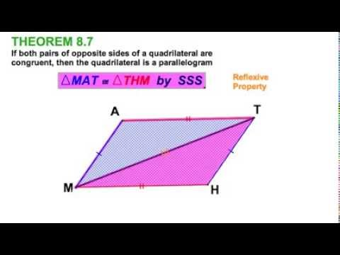 8 3 Proving Parallelograms