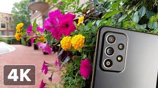 Galaxy A52 5G: 4K video footage test