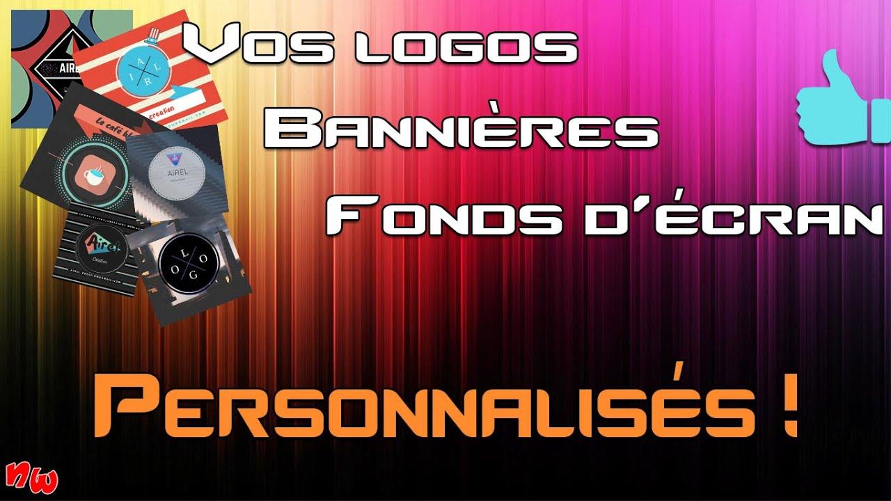 Vos logos personnalisés ! (Logos / Bannières / Fonds d'écran) | Fr