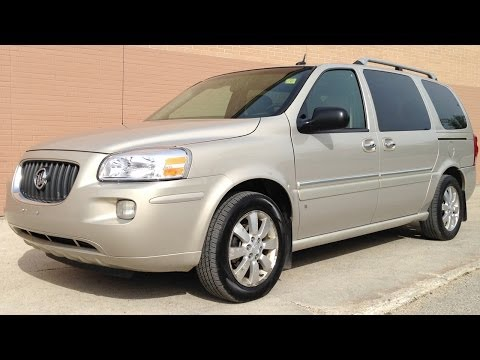 Used 2007 Buick Terraza CXL Review from Ride Time in Winnipeg, MB
