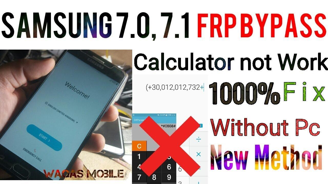 Samsung j7 frp calculator code   SAMSUNG GALAXY J700F/H: MOST
