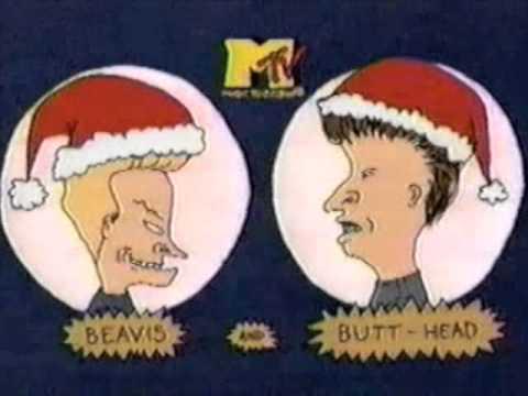 """MTV """"A Beavis and Butt-Head Christmas"""" bumper (version 1) - 1995"""