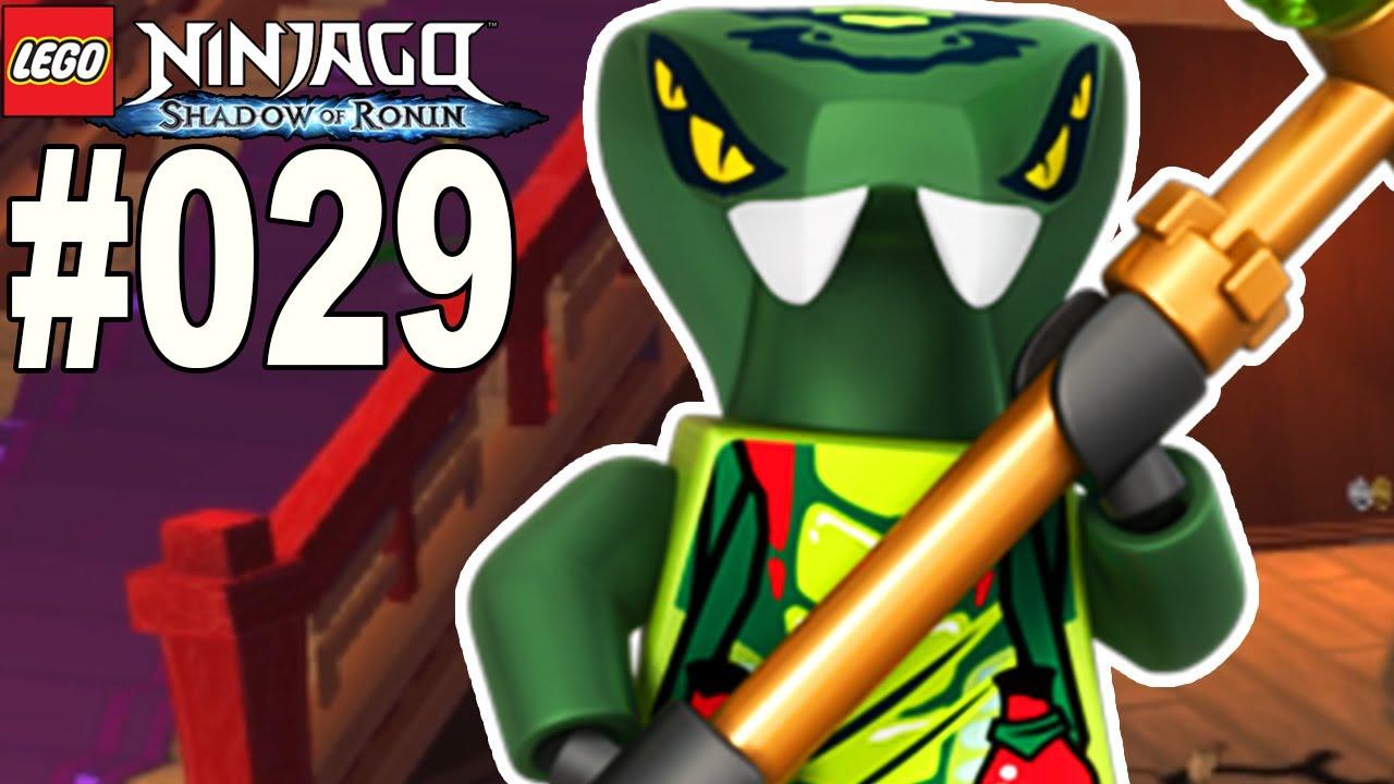 Lego Ninjago Schatten Des Ronin 029 Giftnattern Lets Play