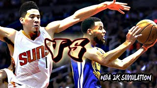 Phoenix Suns vs Golden State Warriors - Full Game | Oct 22, 2018 | NBA 2k19