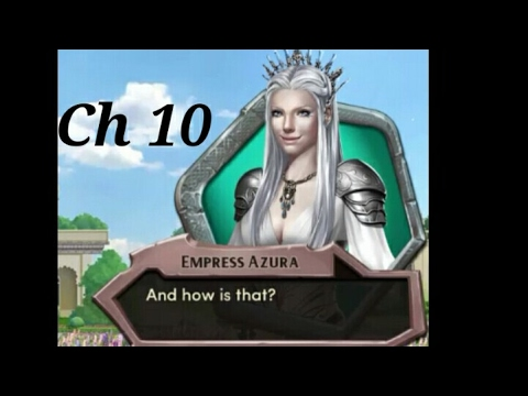 KISSING EMPRESS AZURA!! Choices:- The Crown and The Flame Book 3 Chapter #10 (Diamonds used)