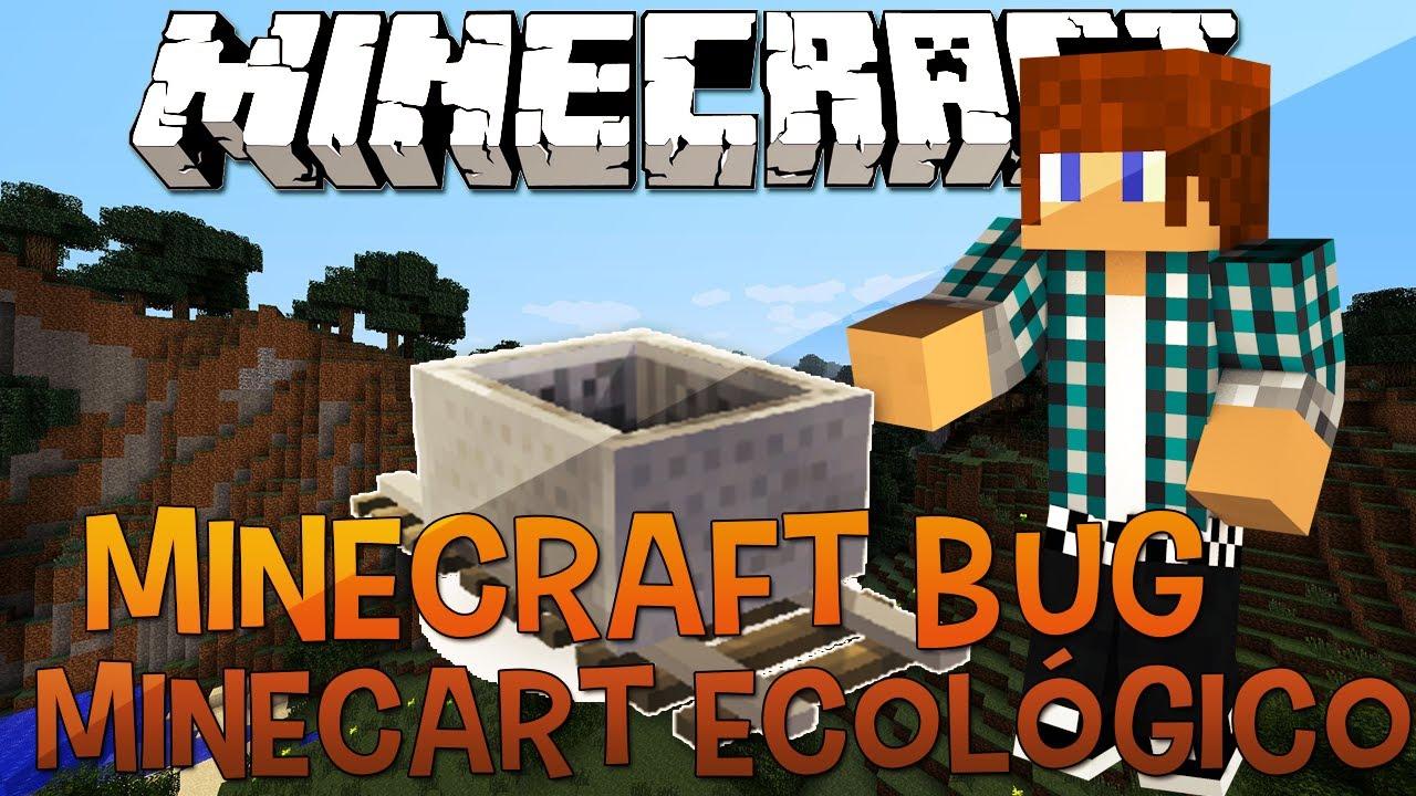 39b43c31753 Minecraft Bug 1.5.2 - Minecart com Energia Infinita - YouTube