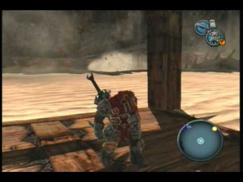 Darksiders  Walkthrough  Third Temple  Crossing the Worm Pit PART 32