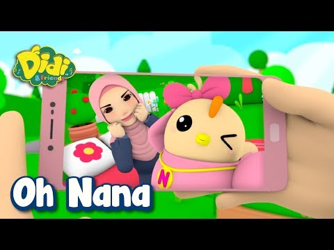 Didi & Friends x Mak Iti (Dato' Sri Siti Nurhaliza)   Oh Nana x Comel Pipi Merah
