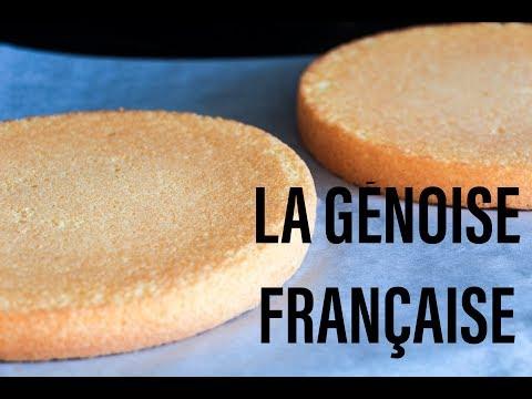 les bases en pâtisserie française: la génoise, recette facile étape par étape