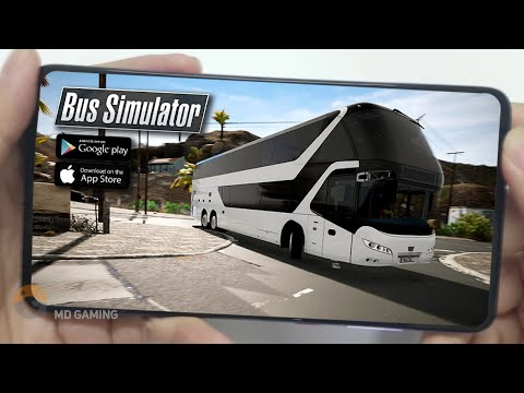 🔥TOP8🔥REALISTIC BUS SIMULATOR ANDROID GAMES 2020 | Free Offline Simulator Games【MD Gaming】