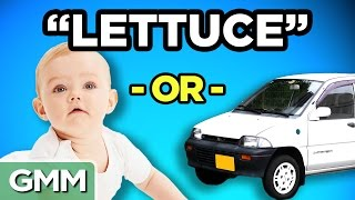 Download Celebrity Baby or Car Name (GAME) Mp3 and Videos