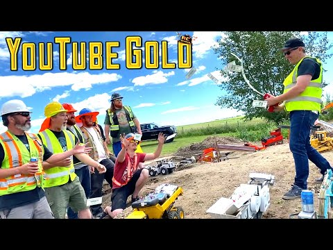 """YouTube GOLD! """"HIGH ROLLER"""" BUYS the """"YTG MINE EXPERIENCE"""" - ROCK CRUSHER! (S3, E12) 