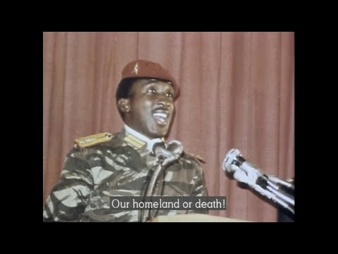 Mhenga Thomas Sankara Documentary