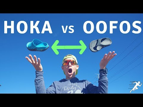 Hoka vs Oofos recovery Slide Sandals | New Opinion on running recovery sandals