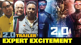 2.0 Trailer | EXPERT EXCITEMENT | Rajinikanth, Akshay Kumar | 2.0 Collects 450+ Cr Before Release