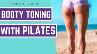 Pilates Workout to Lift Glutes & Tone Thighs (No Equipment) | Rebecca Louise | Rebecca Louise