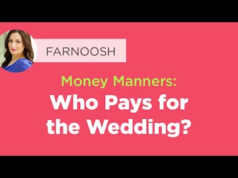 Money manners who pays for the wedding youtube money manners who pays for the wedding junglespirit Gallery