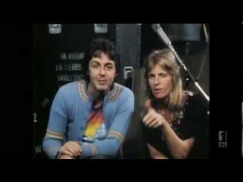 Paul Linda McCartney Countdown Interview 1977