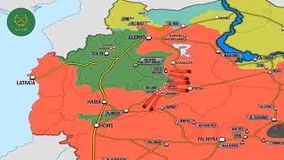 7 ноября 2017. Военная обстановка в Сирии. Бои сирийской армии против Аль Каиды на западе Сирии.