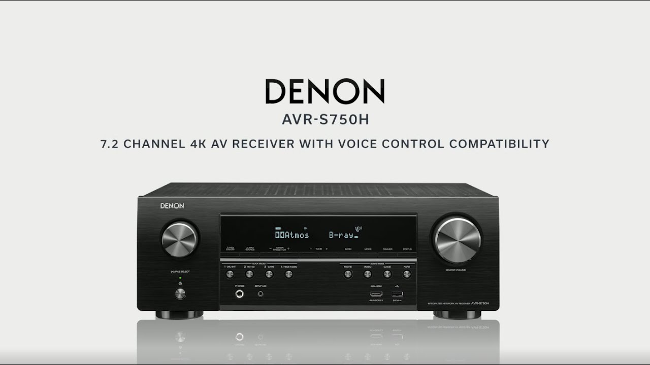 Denon Introducing The Avr S750h Youtube