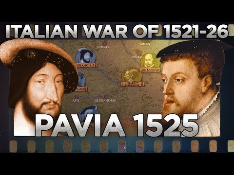 Battle of Pavia (1525) - Italian Wars DOCUMENTARY