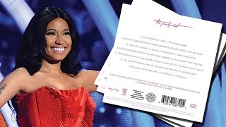 "Nicki Minaj ""The Pinkprint"" Album Tracklist Features Beyonce & Ariana Grande"