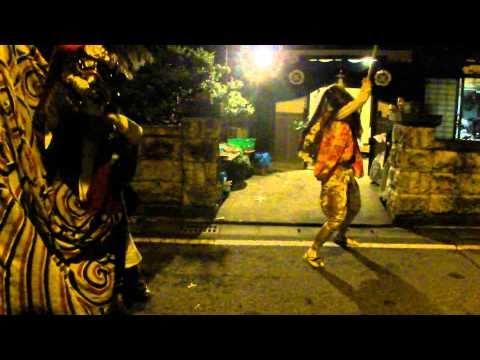 2010/09/08 越中大門二口火渡りで有名な獅子舞まつり-2