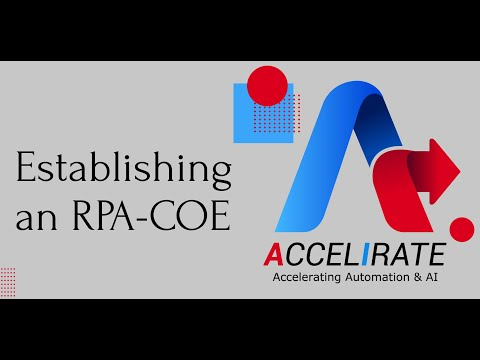 Automation COE Establishment | Accelirate Inc