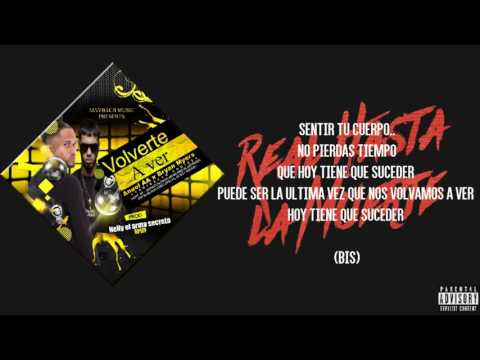 Anuel AA ft Bryant Myers Nio Garcia - Volverte a ver[Lyrics Video]