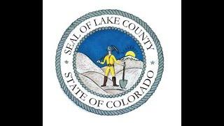 Lake County CO 1-04-2021 Monday Regular BOCC Meeting