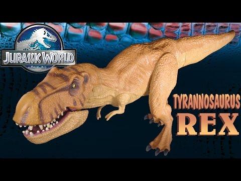 Opening: Jurassic World TYRANNOSAURUS REX - Chomping T-REX