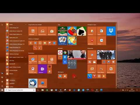 Les programmes dans Windows 10