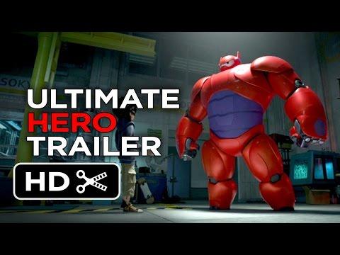 Big Hero 6 Ultimate Hero Trailer (2014) - Disney Animation Movie HD