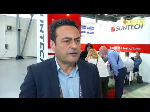 CISOLAR 2018: Dimitris Titopoulos, Suntech Power about development solar energy market in Ukraine