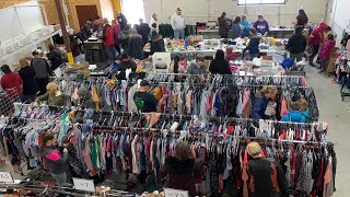 Warehouse Sale Video - I sold over 18,000 items in 8 days!