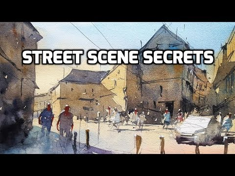 Street Scene Secrets - A Watercolor Demo by Tim Wilmot #24