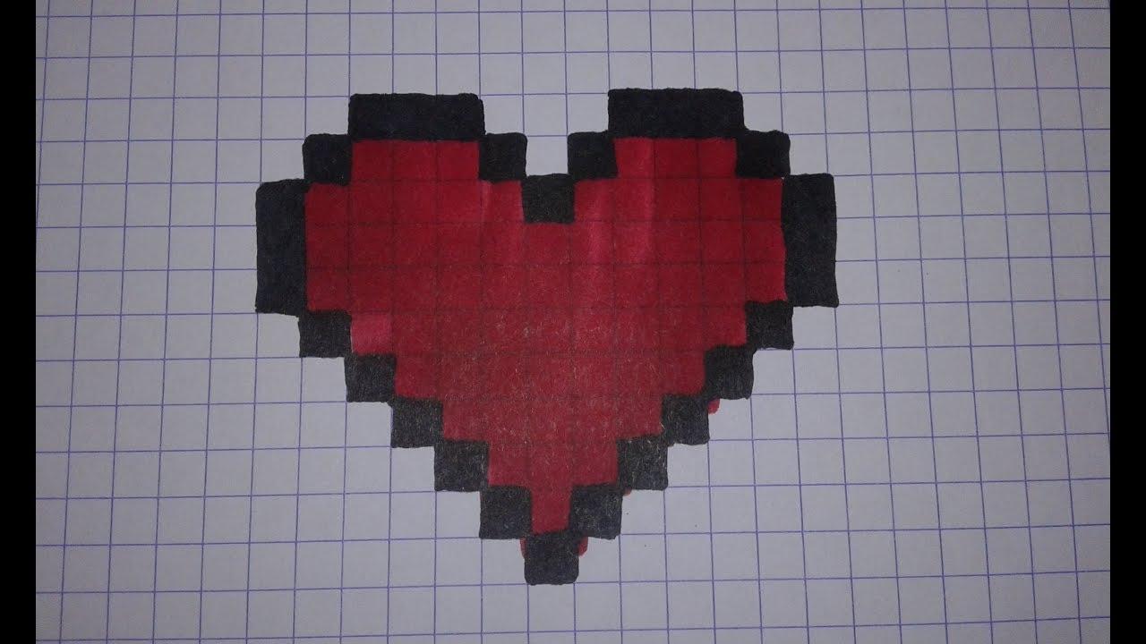 Comment Dessiner Un Coeur Pixelisé Tutoriel
