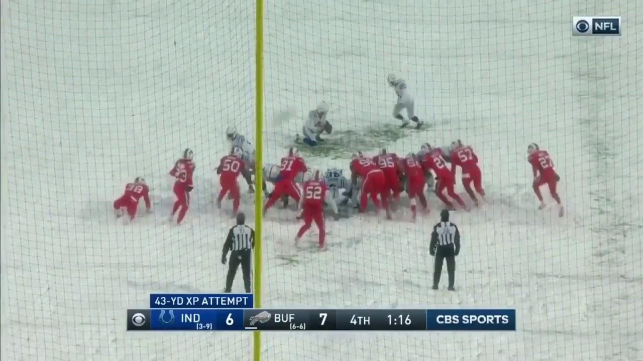 Colts Vs Bills Insane Snow Game Game Highlights Youtube