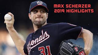 Max Scherzer 2019 Highlights Mix