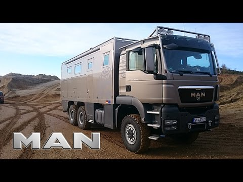 MAN TRUCKLIFE TGS 6x6 Expedition Truck World Trip