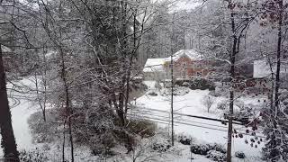 2017-12-08 Roswell, GA Snow Timelapse