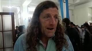 Trabajadores de Astilleros coparon el ministerio de Economía