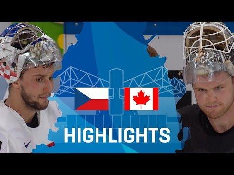 Czech Republic - Canada   Highlights   #IIHFWorlds 2017