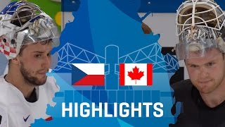 Czech Republic - Canada | Highlights | #IIHFWorlds 2017