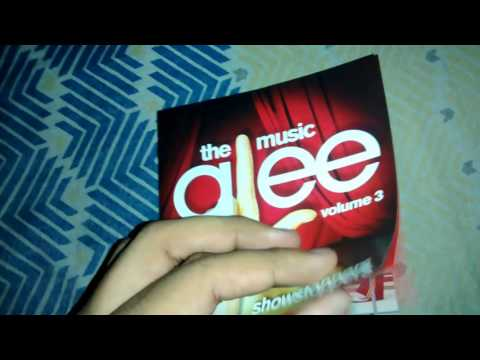 Unboxing CD Glee: The Music, Volume 3 - Showstoppers (Standard Edition)