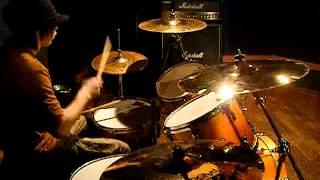 Deep Purple  Highway Star  Drum Cover