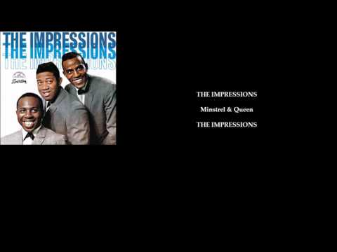 THE IMPRESSIONS 'Minstrel & Queen (Queen Majesty)'