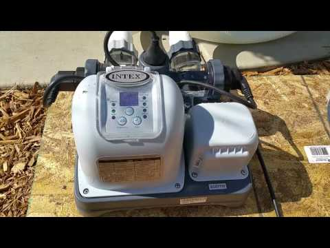 ITEX Above Ground Pool Saltwater System Conversion