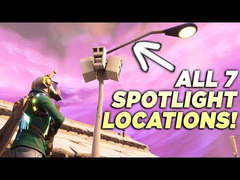 ALL 7 STREETLIGHT SPOTLIGHT LOCATIONS!